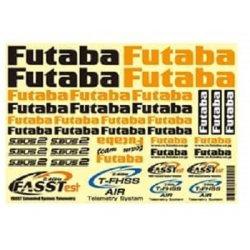 画像1: 双葉電子  Futaba 空用 ステッカーシール